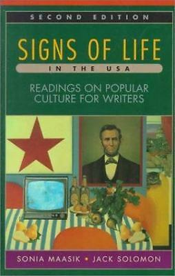 Signs of Life in U. S. A. by Sonia Maasik (1997, Paperback)
