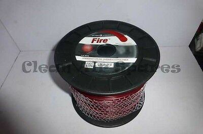 "Silver Streak Fire Round Trimmer Line 3.3mm 130"" 236m 5lb Roll Commercial"