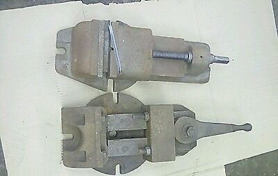 Two Large Engineers Machine Vice 150Mm