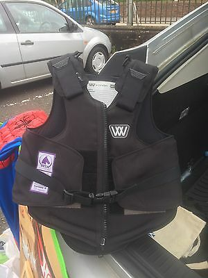 Horse Riding Back Protector Child Size m