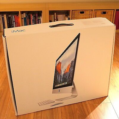 AS NEW iMac 27'' i5 3.2GHz, 16GB RAM, 1TB HD, 1GB VRAM, complete package in box