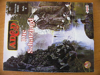 AD&D Advanced Dungeons & Dragons Die Schatzjagd AD&D1 Stufe 0