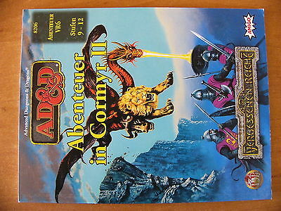AD&D Advanced Dungeons & Dragons Abenteuer in Cormyr II 9-12 Forgotten Reamls
