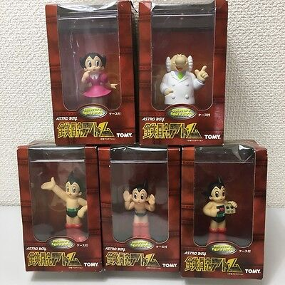 ASTRO BOY 5 Figure set Collectors figure world TOMY Unopened Japan Anime Toy