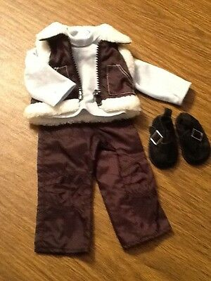 Magic Attic Doll outfit.   Cool Winter Wear