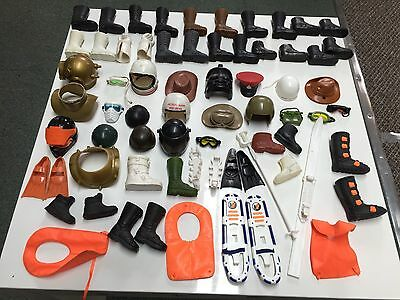 Action Man Job Lot, Helmets, Boots And Other Accessories