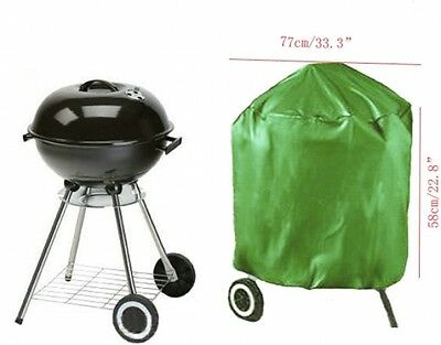 23 Inch Outdoor Round Waterproof BBQ Barbecue Grill Cover BBQ Grill Protection
