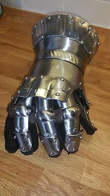 medieval armour Repro Steel Full hand Gauntlets