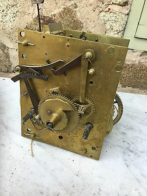 8 Day Longcase (Grandfather) Clock Movement 18th, to early 19th century.