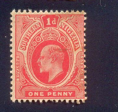 Southern Nigeria 1P Used Stamps A20113 King George V Had