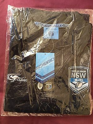 New South Wales Blues Polo Shirt State of Origin - XL - NEW