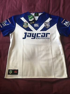 Canterbury Bankstown Bulldogs NRL Shirt - XL - NEW