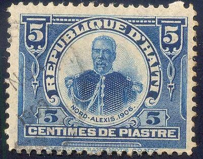 Haiti 5C Used Stamps A20743 Nord Alexis Head
