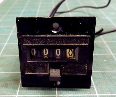 Electric counter - Durant 4-Y-41314-422-MEQU - 4 digit - 24V