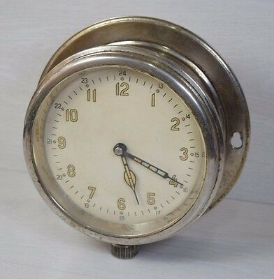 Antique Military Ships Boat Marine Navy Phosphor Numbers Clock NAVIGATION WATCH
