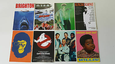 CINEMA SERIE TELE LOT de 8 CARTES POSTALES NEUVES