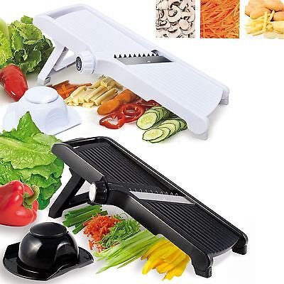 Professional Mandolin Slicer Julienne Cutter Chopper Fruit Vegetable Veg Peeler