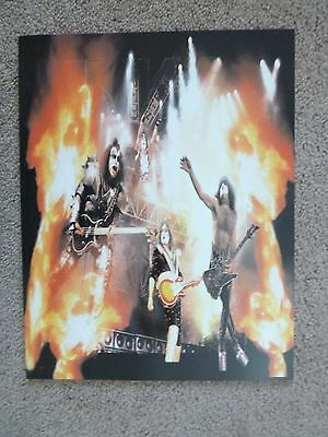 """KISS OVERSIZED TOUR BOOK """"The Farewell Tour 1973-2000"""" US EDITION"""