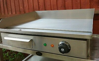 Commercial electric griddle, Hot plate,Grill- EU Plug - UK plug adapter Supplied