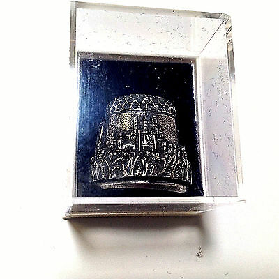 Pewter Thimble Ely Cathedral in Original Box
