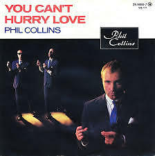 """Phil Collins- You can't hurry love 1983 7"""" Vinyl Single"""