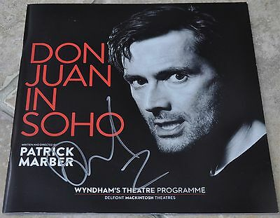 David Tennant Signed Don Juan In Soho Theatre Programme Doctor Who Broadchurch