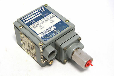 Square D 9012-GCW-2 Pressure Switch Range 90-2900 psig 6-200 bars 9012GCW2
