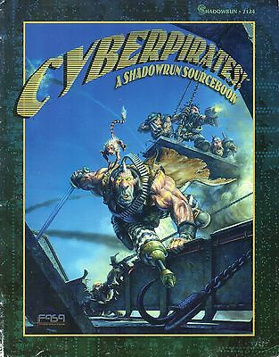Shadowrun-CYBERPIRATES-SOURCEBOOK-RPG-Roleplaying Game-(SC)-engl.-new-Rarität