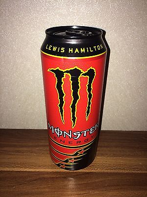 Lewis Hamilton Monster Dose Limited Edition Full VOLL NEU Energy Drink 500ml cap