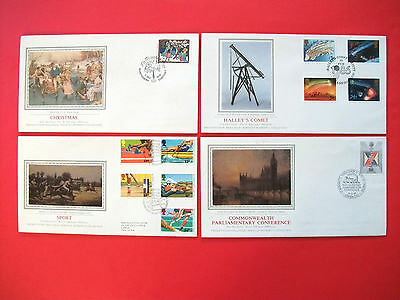 4 x Sotheby's Philatelic Services Collection, First Day Covers  - 1986
