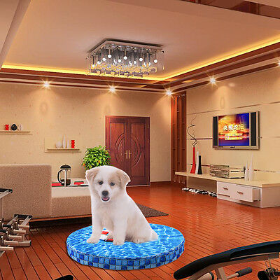 48*48 cm Cat Dog Cold Bed Cooling Cushion Kennel Pad Mat Travel Summer Pet Puppy