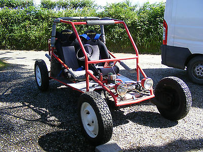 Off Road Buggy, Dune Buggy, Field Car Citroen 2Cv Based