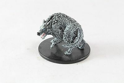 D&D Miniatures Storm King's Thunder Large Uncommon Winter Wolf 25
