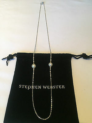 Stephen Webster 'Jewels Verne' Pearl Necklace 50% OFF RRP High Fashion RARE