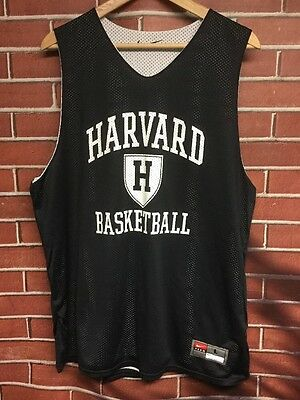 Reversible Size Large Harvard University Team Issued Basketball Jersey