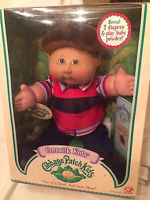 Cabbage Patch Doll Play Along Pa New Nib Red Brown  Freckles Tom Turner Dec 16