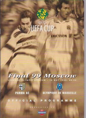 Parma v Marseille 1999 UEFA CUP FINAL  Moscow Russia