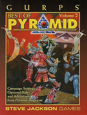 GURPS-BEST OF PYRAMID VOL.2-RPG-Steve Jackson Games-new-very rare