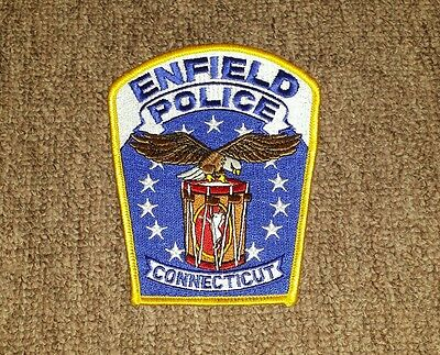 Enfield Connecticut Police Shoulder Patch