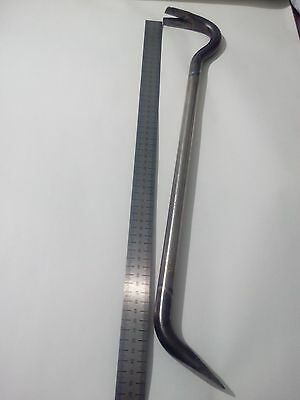 22.4 inch,57cm Titanium Pry Bar,Nail Puller,Crowbar. Super Durable, lightweight!