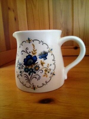 Purbeck Ceramics Swanage flower patterned jug