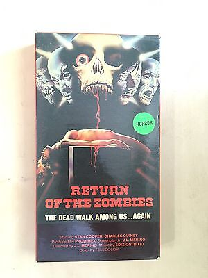 Return Of The Zombies (1973) VHS