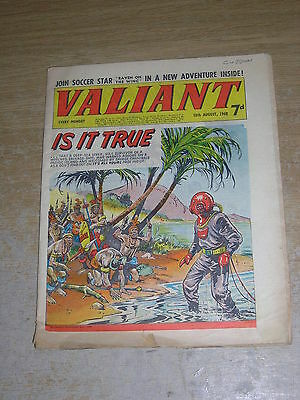 Valiant 10th August 1968