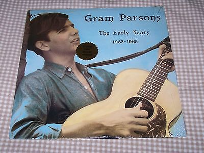 Gram Parsons The Early Years