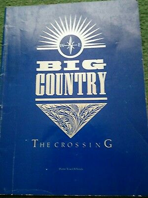 big country the crossing piano vocal chord book