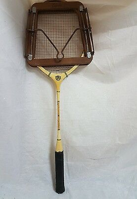 Vintage The International Wooden Badminton Racket -