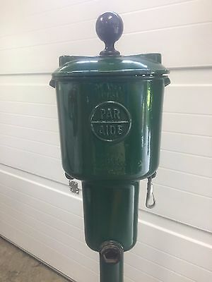Par Aide Single Deluxe Golf Ball Washer Cleaner Stand Green Pole Fast Shipping