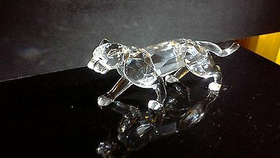 Swarovski Crystal Panther/Leopard Figurine...Mint Condition!!!