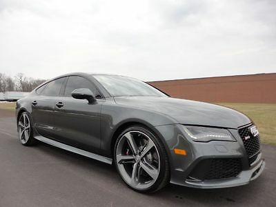 2014 Audi RS7 RS7 2014 AUDI RS7 RS 7 MSRP $$113,68.00 LOADED CLEAN CARFAX WE FINANCE MAKE OFFER !!