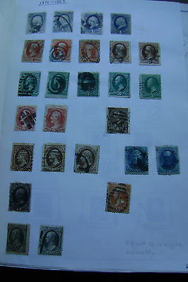 United States of America postage stamps 19th century